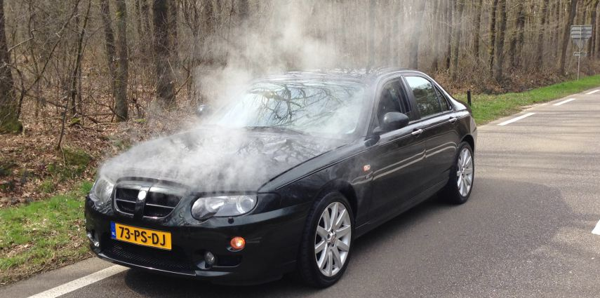 MG ZT 260 | Steaming hot