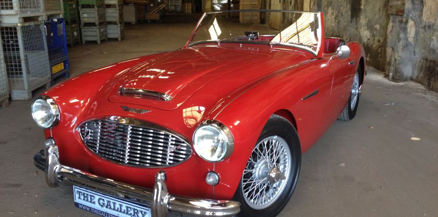 Austin-Healey 100-6 | Almost a Cobra